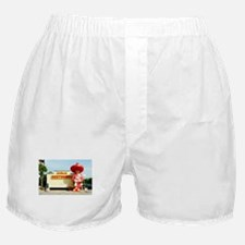 Pedro & Restroom sign, SC Boxer Shorts