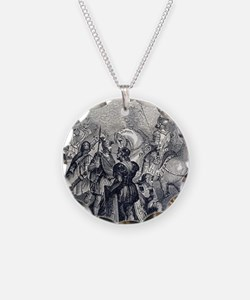 Roman soldiers of different  Necklace