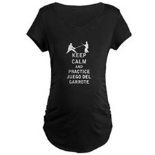 Keep Calm and Practice Juego del garrote T-Shirt