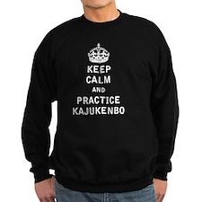 Keep Calm and Practice Kajukenbo Sweatshirt