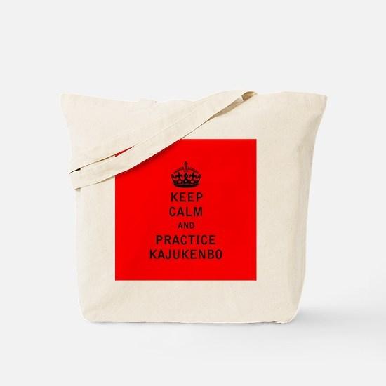 Keep Calm and Practice Kajukenbo Tote Bag