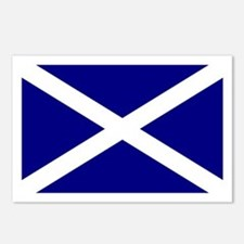 Scottish Flag Postcards (Packof 8)