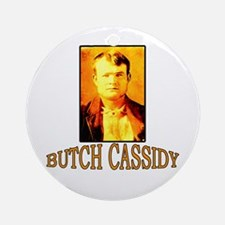 Vintage Butch Cassidy Ornament (Round)