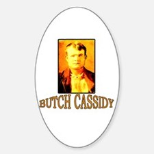 Vintage Butch Cassidy Oval Decal