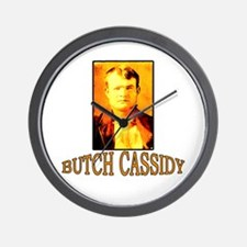 Vintage Butch Cassidy Wall Clock