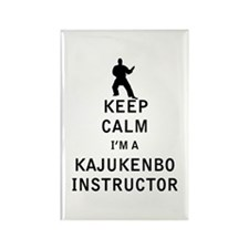 Keep Calm I'm a Kajukenbo Instructor Magnets
