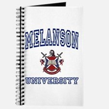 MELANSON University Journal