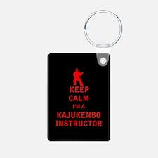 Keep Calm I'm a Kajukenbo Instructor Keychains