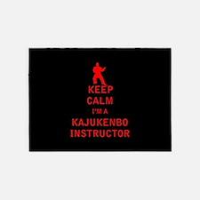 Keep Calm I'm a Kajukenbo Instructor 5'x7'Area Rug