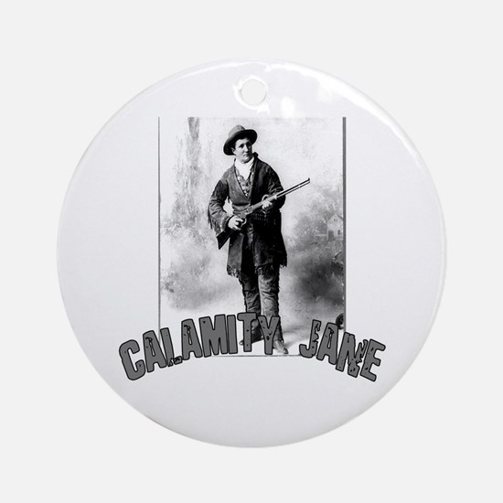Vintage Calamity Jane Ornament (Round)