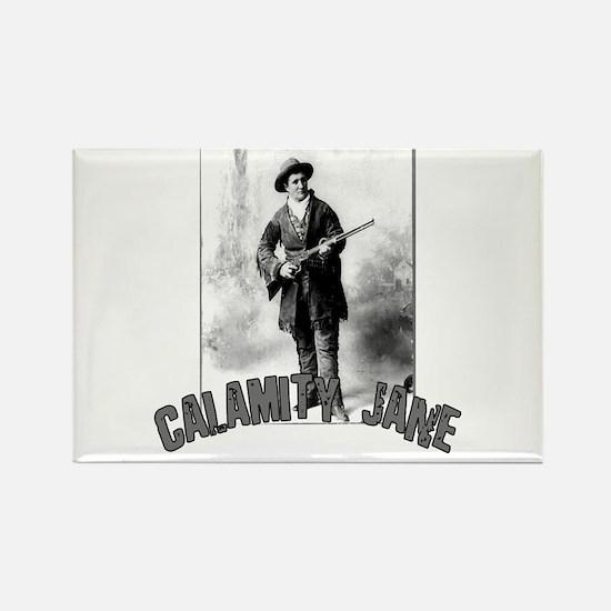 Vintage Calamity Jane Rectangle Magnet