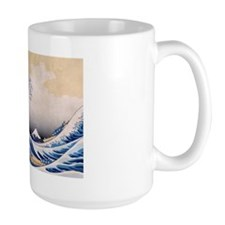 Ukiyoe Hokusai Wave Coffee Mug