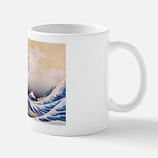 Ukiyoe Hokusai Wave Mug