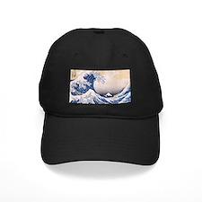 Ukiyoe Hokusai Wave Baseball Hat
