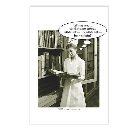 Catheter Gifts > Catheter Postcards > Insert Foley Catheter Postcards ...