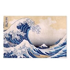 Ukiyoe Hokusai Wave Postcards (8)
