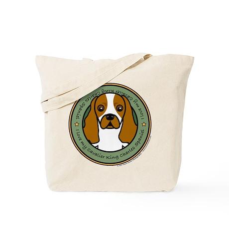 Love My Cavalier Tote Bag