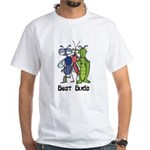 Best Buds Bug Trio White T-Shirt