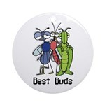 Best Buds Bug Trio Ornament (Round)