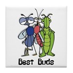 Best Buds Bug Trio Tile Coaster
