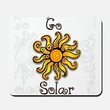Go Solar 4 Mousepad