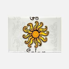 Go Solar 4 Rectangle Magnet
