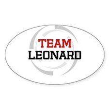 Leonard Oval Decal