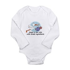 stork baby greece 2 Body Suit