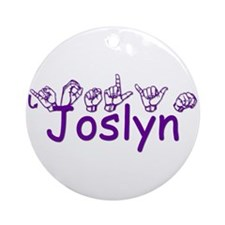 Joslyn Ornament (Round)