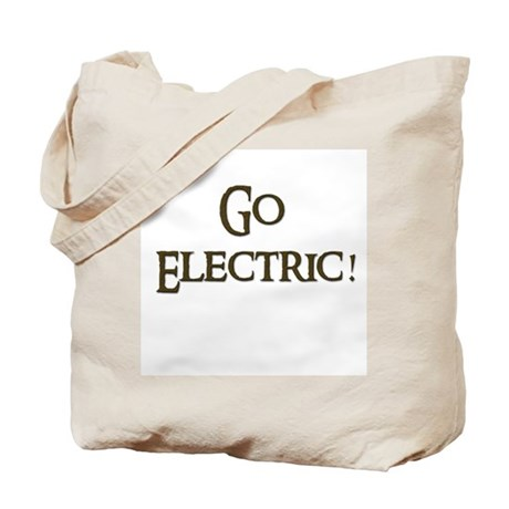 Go Electric 1 Tote Bag