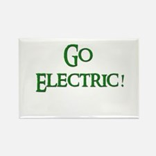 Go Electric 2 Rectangle Magnet