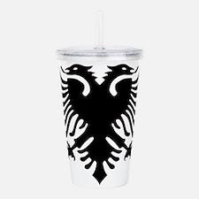 Albania Eagle Acrylic Double-wall Tumbler