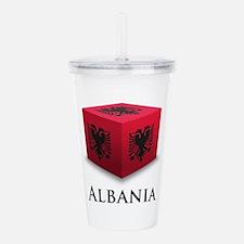 Cube Albania Acrylic Double-wall Tumbler