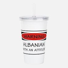 Attitude Albanian Acrylic Double-wall Tumbler