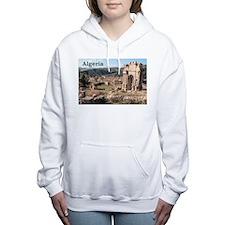 Algeria Roman Ruins Women's Hooded Sweatshirt