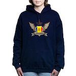 Andorra Emblem Women's Hooded Sweatshirt