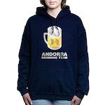 Andorra Drinking Team Women's Hooded Sweatshirt