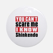 I Know Shinkendo Round Ornament