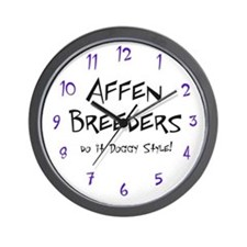 Affen Doggy Style Wall Clock