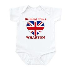 Wharton, Valentine's Day Infant Bodysuit
