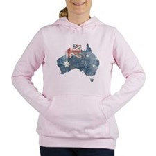 Cute Australian Women's Hooded Sweatshirt
