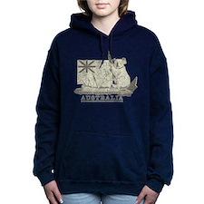 Vintage Australia Women's Hooded Sweatshirt