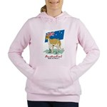 Australia Kangaroo Women's Hooded Sweatshirt