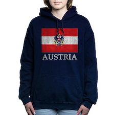 Vintage Austria Women's Hooded Sweatshirt