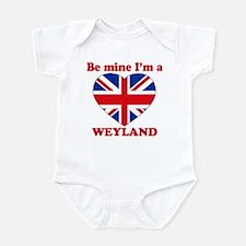 Weyland, Valentine's Day Infant Bodysuit