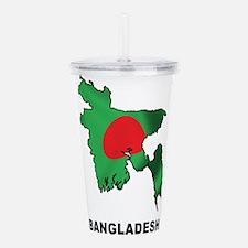 Bangladesh Acrylic Double-wall Tumbler