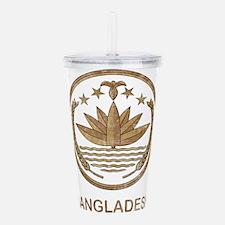 Vintage Bangladesh Acrylic Double-wall Tumbler