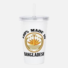 Made In Bangladesh Acrylic Double-wall Tumbler