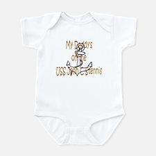 Daddy on Stennis Infant Bodysuit