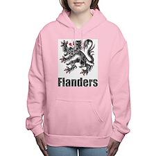 Vintage Flanders Women's Hooded Sweatshirt